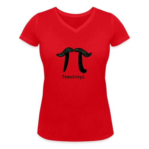 tronderpi png - Økologisk T-skjorte med V-hals for kvinner fra Stanley & Stella