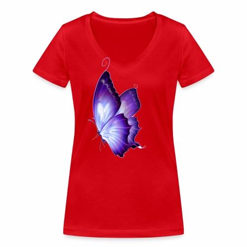 smith - Camiseta ecológica mujer con cuello de pico de Stanley & Stella