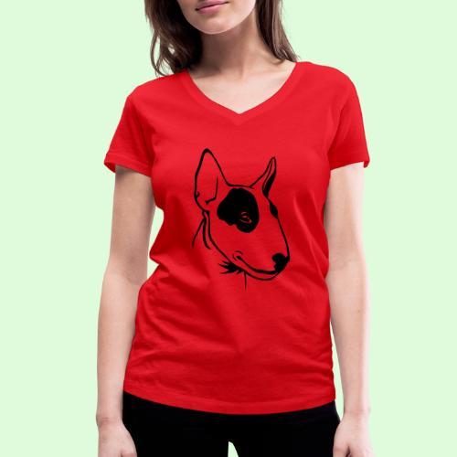 Bull Terrier - T-shirt bio col V Stanley & Stella Femme