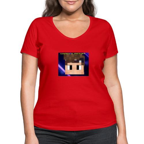 xxkyllingxx Nye twitch logo - Økologisk Stanley & Stella T-shirt med V-udskæring til damer
