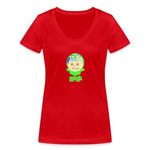 Lord L Comic - Frauen Bio-T-Shirt mit V-Ausschnitt von Stanley & Stella