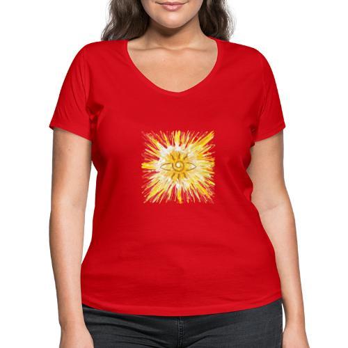 Sternentor der LichtKraft - Sonja Ariel von Staden - Frauen Bio-T-Shirt mit V-Ausschnitt von Stanley & Stella