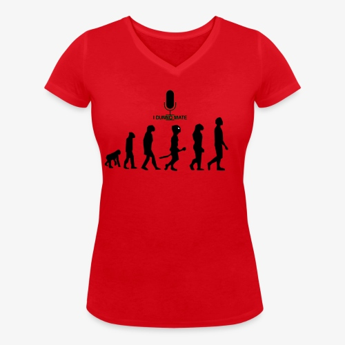 Evolution - Women's Organic V-Neck T-Shirt by Stanley & Stella