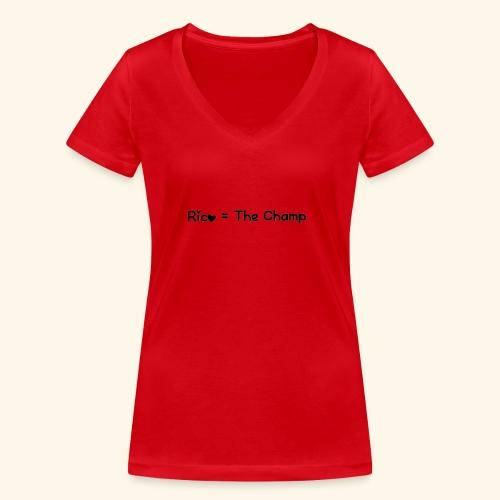 15473209504715359 - Vrouwen bio T-shirt met V-hals van Stanley & Stella