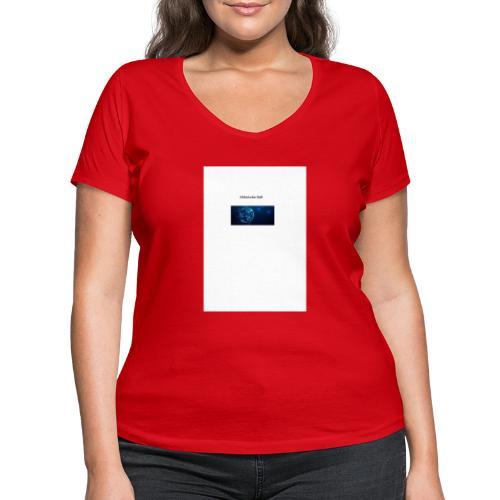 Elektrischer Ball - Frauen Bio-T-Shirt mit V-Ausschnitt von Stanley & Stella