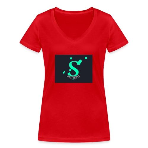 skitterYT - Ekologisk T-shirt med V-ringning dam från Stanley & Stella