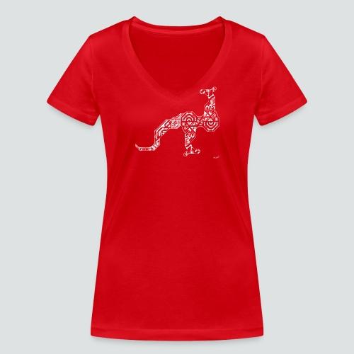Känguru png - Frauen Bio-T-Shirt mit V-Ausschnitt von Stanley & Stella