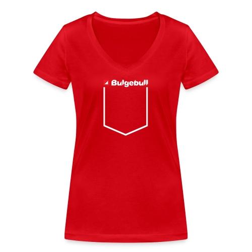 BULGEBULL POCKET - Camiseta ecológica mujer con cuello de pico de Stanley & Stella