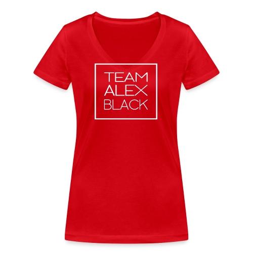 ALEXBLACKtransparent blanc png - T-shirt bio col V Stanley & Stella Femme