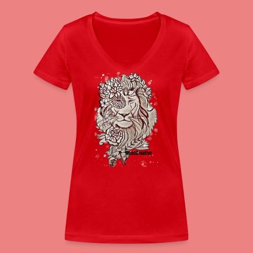 MoodCreativo - T-shirt ecologica da donna con scollo a V di Stanley & Stella
