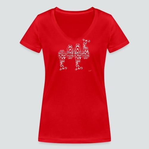 Trampeltier png - Frauen Bio-T-Shirt mit V-Ausschnitt von Stanley & Stella