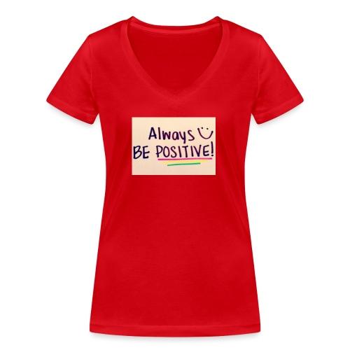 Bamse - Økologisk Stanley & Stella T-shirt med V-udskæring til damer
