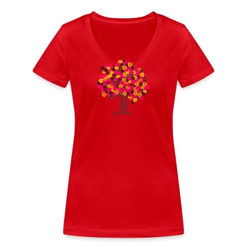tree FLOWER - T-shirt bio col V Stanley & Stella Femme