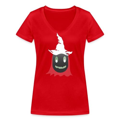Halloween - Frauen Bio-T-Shirt mit V-Ausschnitt von Stanley & Stella
