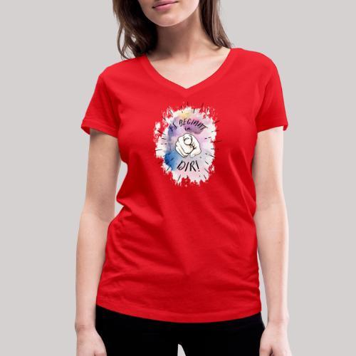 Es beginnt in Dir - Frauen Bio-T-Shirt mit V-Ausschnitt von Stanley & Stella