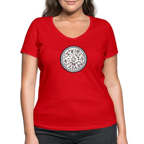 Suerte Vikinga 2 - Camiseta ecológica mujer con cuello de pico de Stanley & Stella