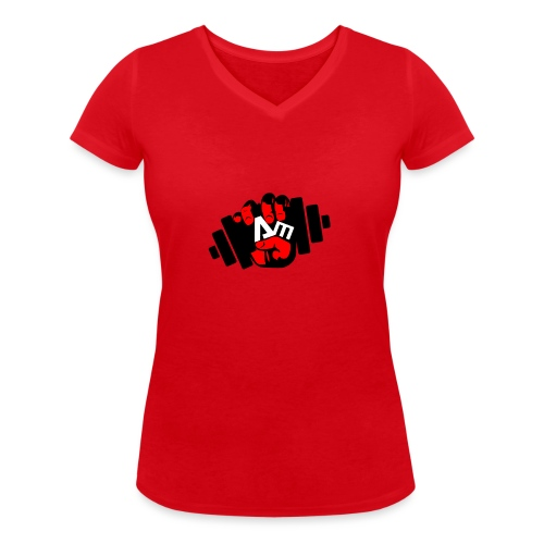 ANTONIO MESSINA ANTOFIT93 - T-shirt ecologica da donna con scollo a V di Stanley & Stella