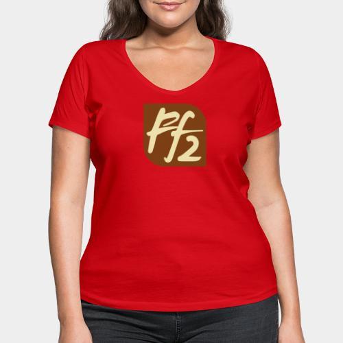 FF2 - Stanley & Stellan naisten v-aukkoinen luomu-T-paita