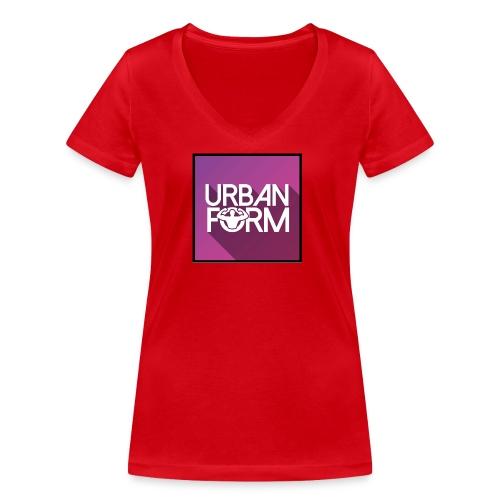 Logo URBAN FORM - T-shirt bio col V Stanley & Stella Femme