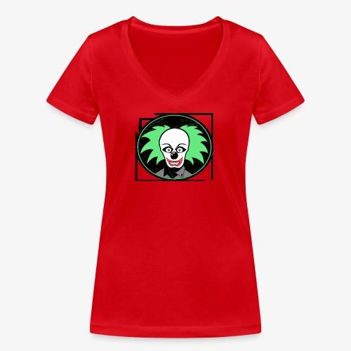 payaso 3001 - Stanley & Stellan naisten v-aukkoinen luomu-T-paita