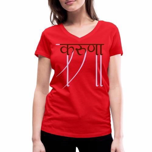 mitgefühl - Frauen Bio-T-Shirt mit V-Ausschnitt von Stanley & Stella