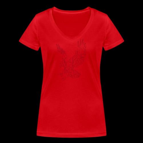 Eagle circuit - Økologisk Stanley & Stella T-shirt med V-udskæring til damer