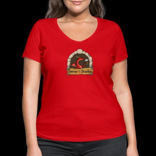 Taverne zum roten Drachen [Official] - Frauen Bio-T-Shirt mit V-Ausschnitt von Stanley & Stella
