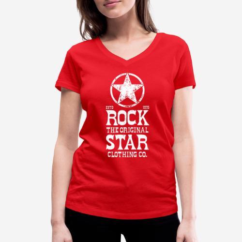 Original - Frauen Bio-T-Shirt mit V-Ausschnitt von Stanley & Stella