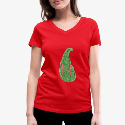 Rune Halagaz in Trendfarben - Frauen Bio-T-Shirt mit V-Ausschnitt von Stanley & Stella