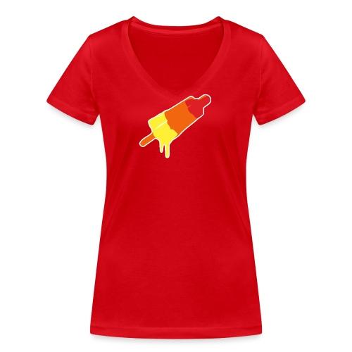 Raket - Vrouwen bio T-shirt met V-hals van Stanley & Stella