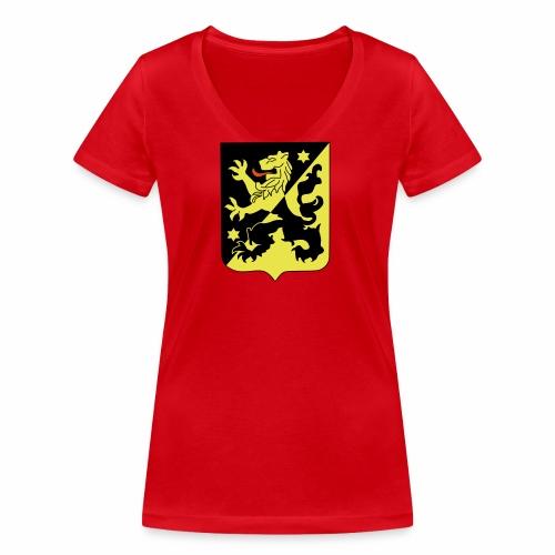 Skaraborg FTW - Ekologisk T-shirt med V-ringning dam från Stanley & Stella