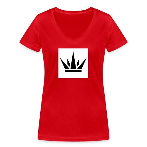 King T-Shirt 2017 - Women's Organic V-Neck T-Shirt by Stanley & Stella