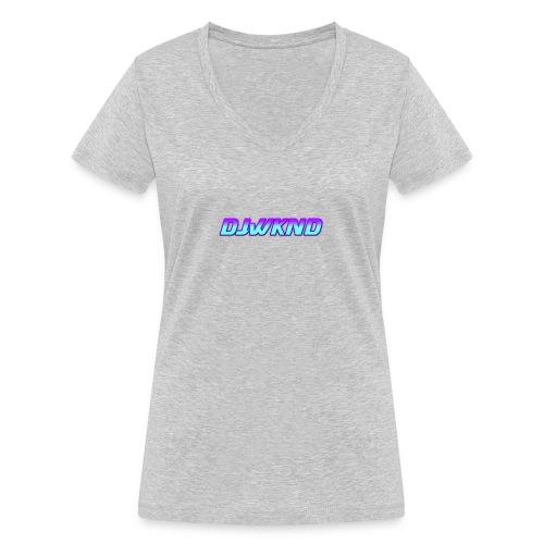 djwknd - Stanley & Stellan naisten v-aukkoinen luomu-T-paita