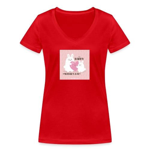 muttertag - Frauen Bio-T-Shirt mit V-Ausschnitt von Stanley & Stella