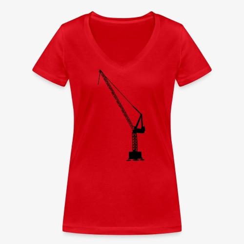 kraan - Vrouwen bio T-shirt met V-hals van Stanley & Stella