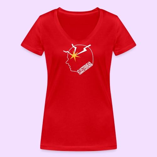Clusterhead - Vrouwen bio T-shirt met V-hals van Stanley & Stella