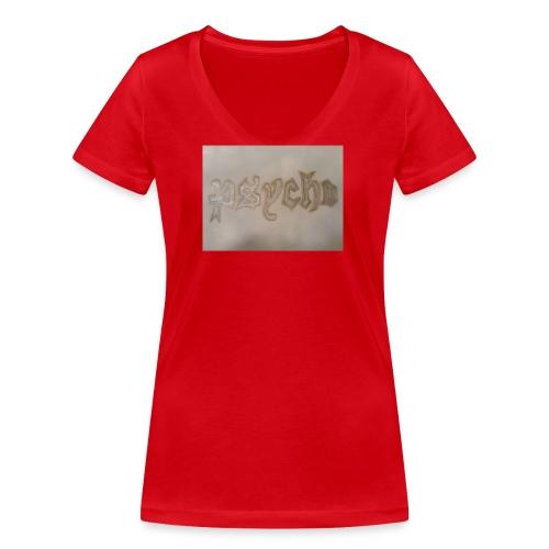 Simon Psycho Artist - Vrouwen bio T-shirt met V-hals van Stanley & Stella