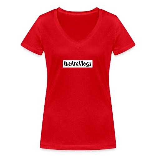 WeAreVlogs - Women's Organic V-Neck T-Shirt by Stanley & Stella