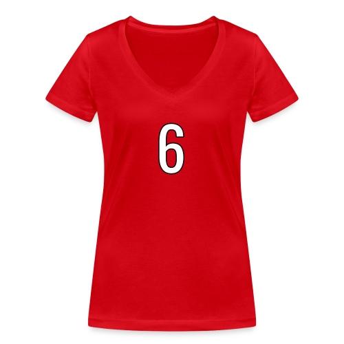 6 - Frauen Bio-T-Shirt mit V-Ausschnitt von Stanley & Stella