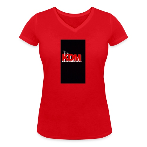 DREAM MUSIC - T-shirt bio col V Stanley & Stella Femme