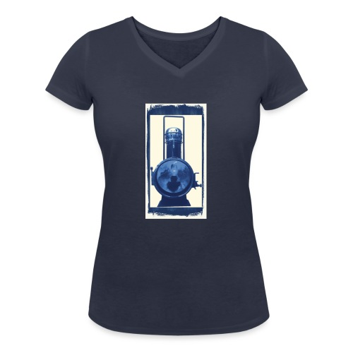 Lok Lantern - Stanley & Stellan naisten v-aukkoinen luomu-T-paita