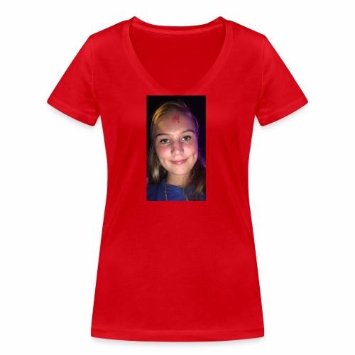 Anouktzj - Vrouwen bio T-shirt met V-hals van Stanley & Stella
