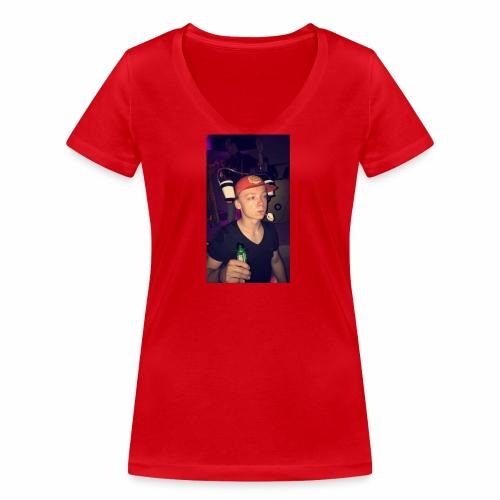 Jiptjz - Vrouwen bio T-shirt met V-hals van Stanley & Stella