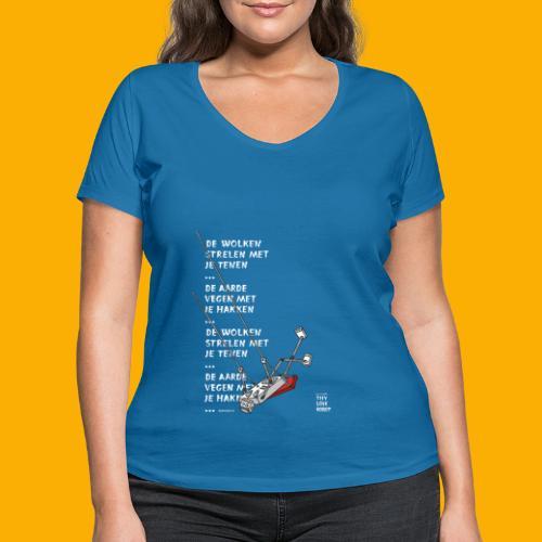 Dat Robot Schommel - Vrouwen bio T-shirt met V-hals van Stanley & Stella