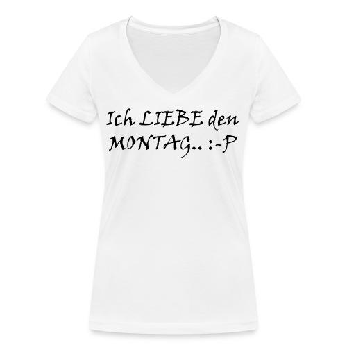 Montag - Frauen Bio-T-Shirt mit V-Ausschnitt von Stanley & Stella