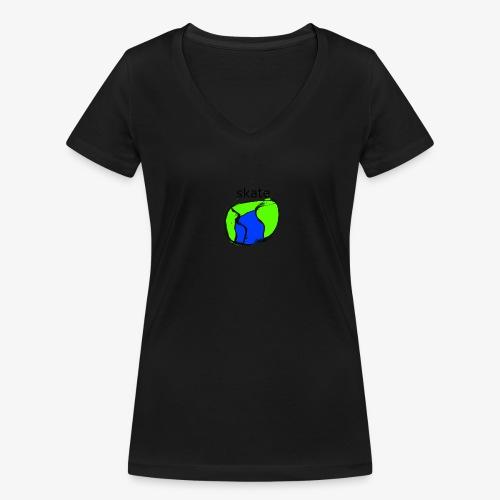 aiga cashier - Økologisk Stanley & Stella T-shirt med V-udskæring til damer