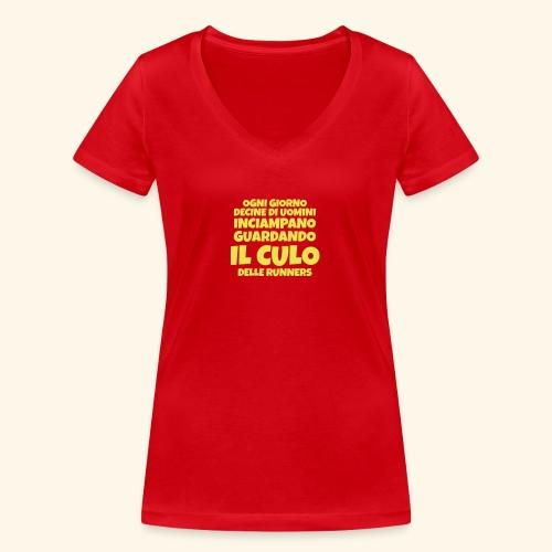 Tema Ironico _ Ogni Giorno - T-shirt ecologica da donna con scollo a V di Stanley & Stella