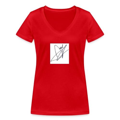 Tshirt - Women's Organic V-Neck T-Shirt by Stanley & Stella
