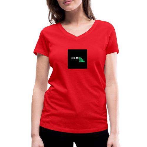 LF CLAN - Ekologisk T-shirt med V-ringning dam från Stanley & Stella