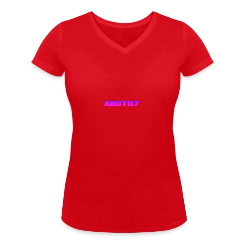 Abot07 - Ekologisk T-shirt med V-ringning dam från Stanley & Stella